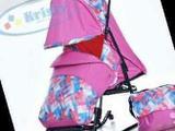 Отличные новые санки-коляска